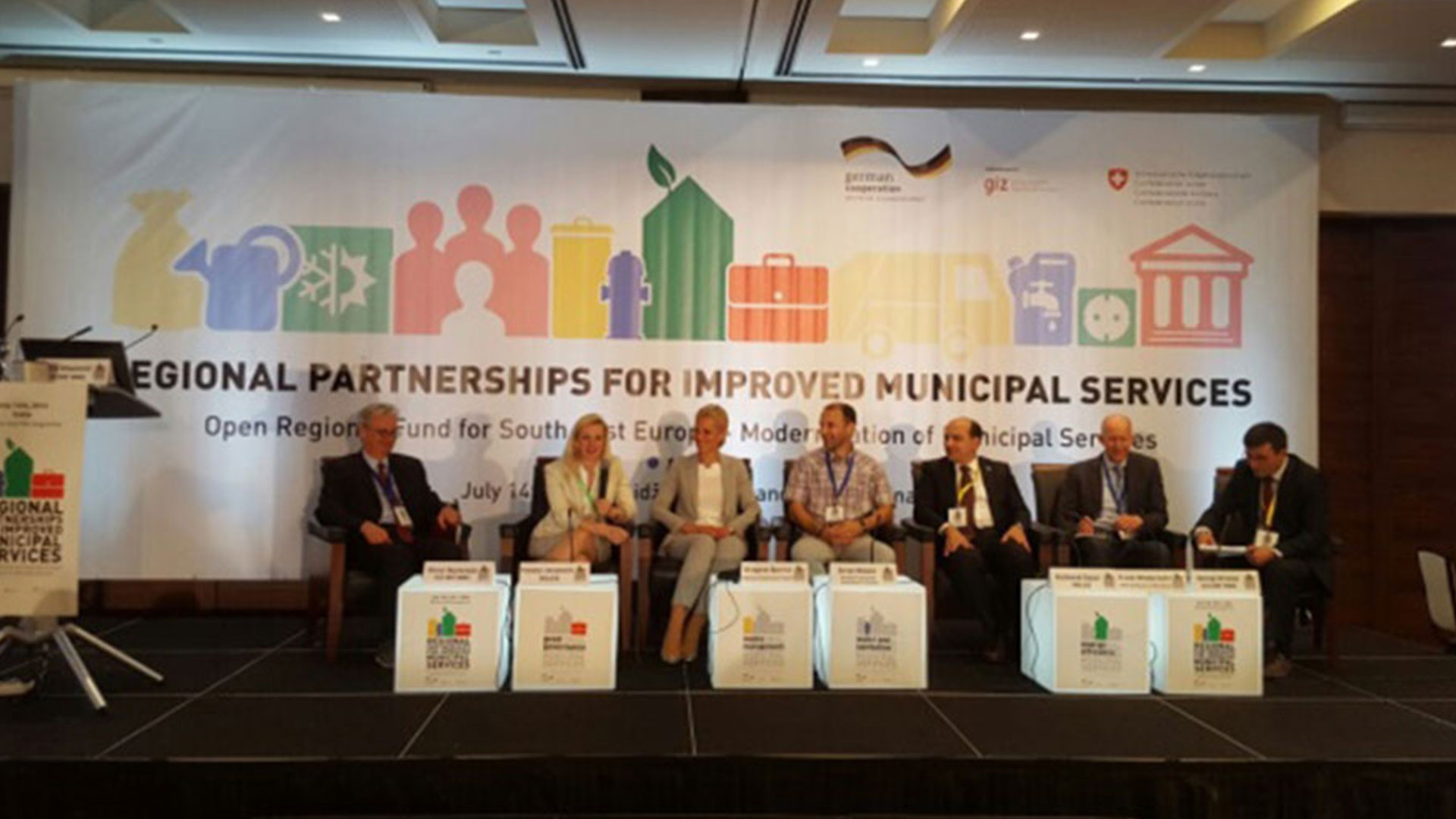Regional partnerships for improved municipal services