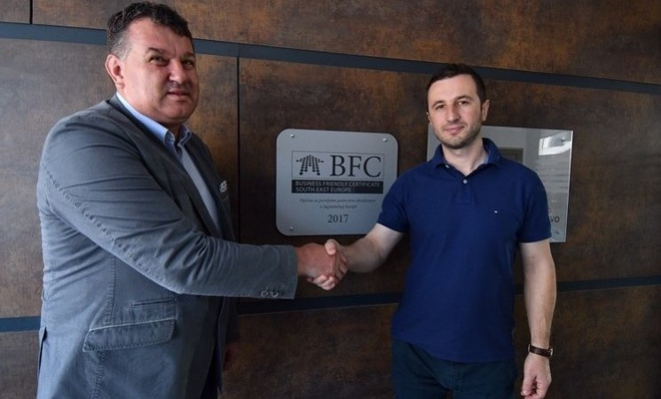 Ceremonial unveiling of BFC SEE board in Novi Grad Sarajevo