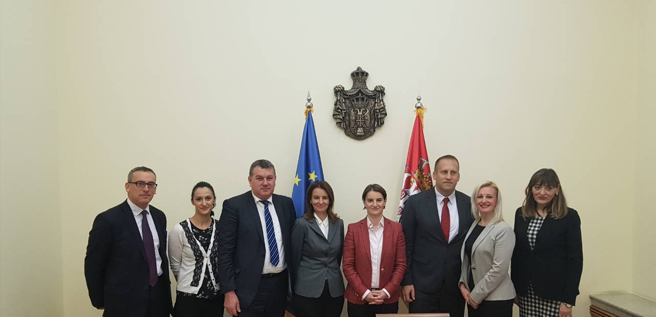 About regional platform for Business Friendly Environment (BFE) with Serbian Prime Minister Ana Brnabić