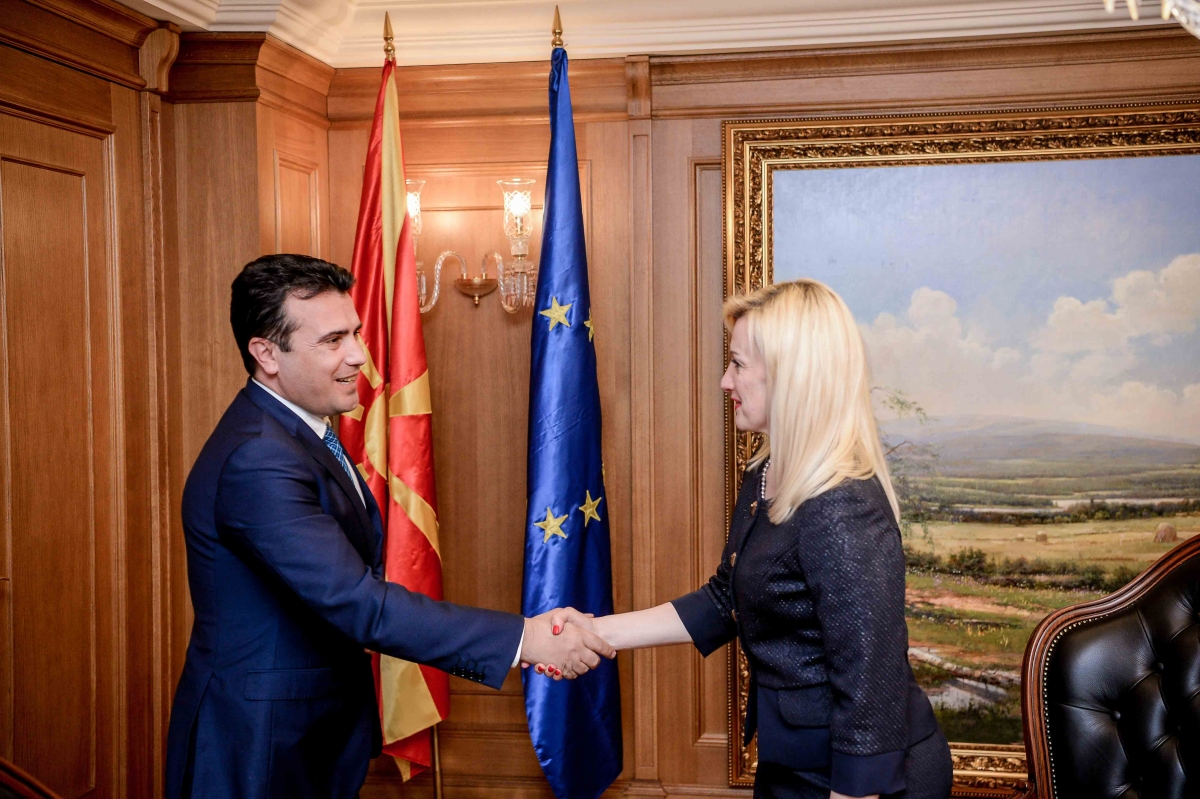 Representatives of the BFC SEE network met with the Macedonian Prime Minister Zoran Zaev