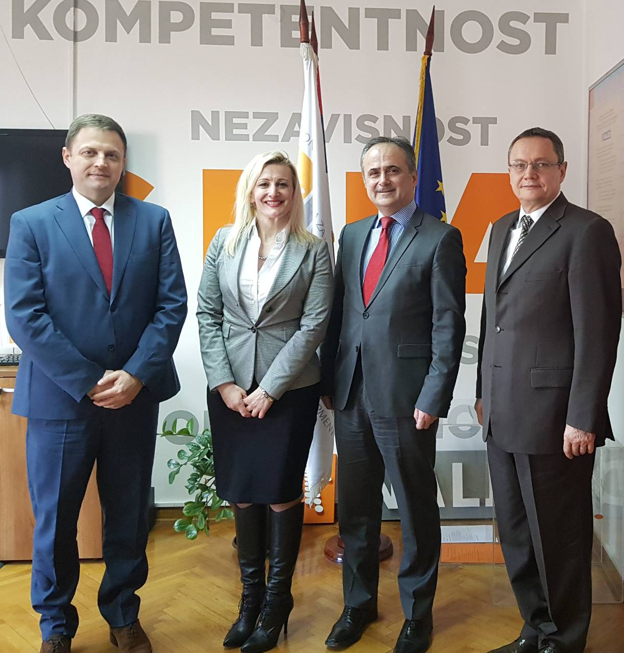 Meeting with the representatives of the Embassy of the Republic Croatia in Belgrade regarding improvement of the business conditions in SEE