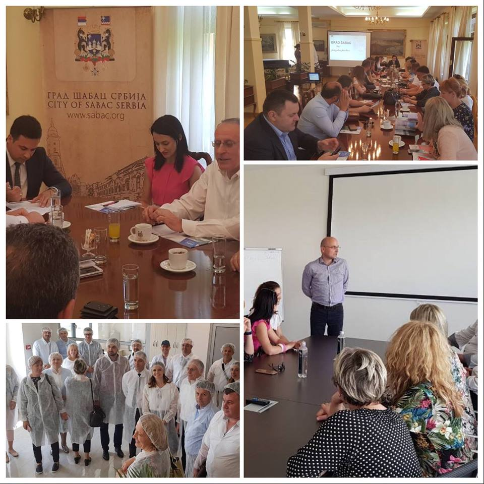 Delegation of BFC SEE municipalities from BiH visited institutions and local governments in Serbia