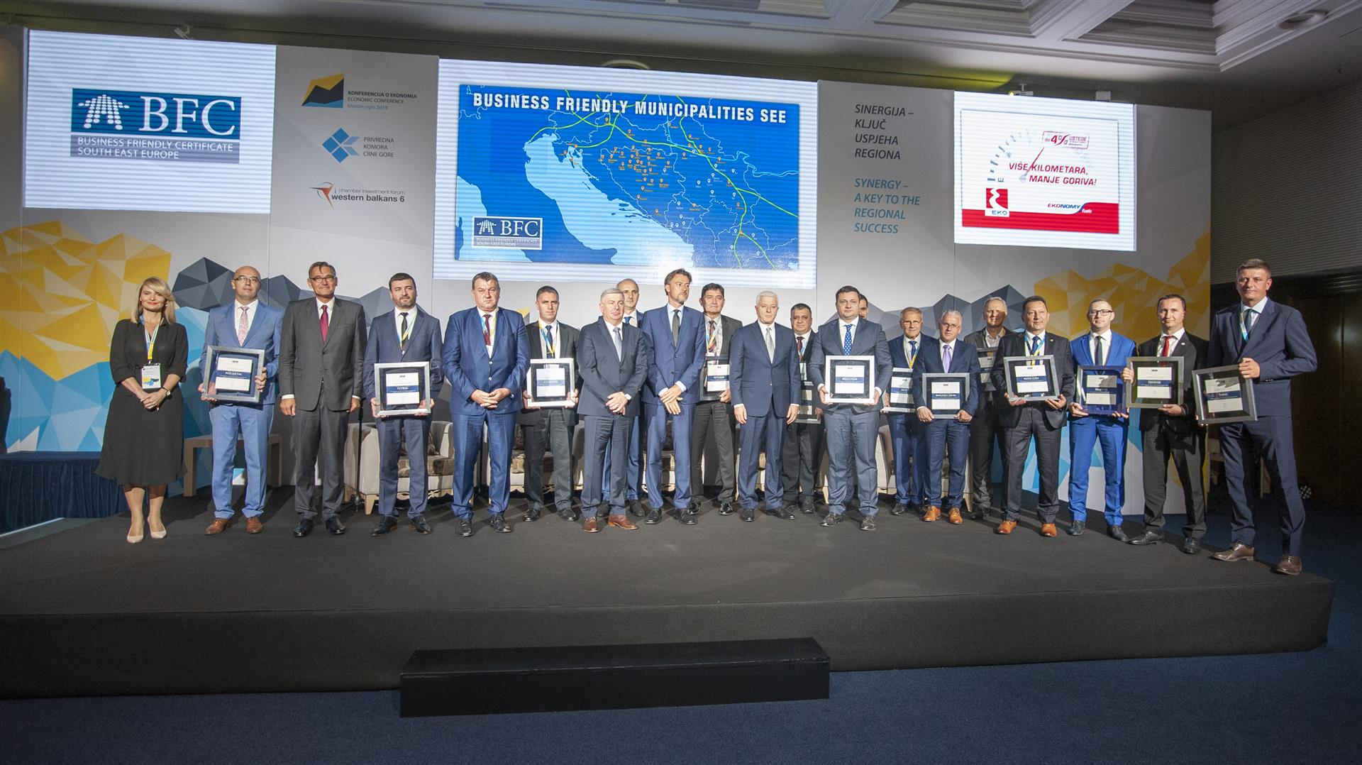BFC SEE Certificate award ceremony 2019 in Montenegro